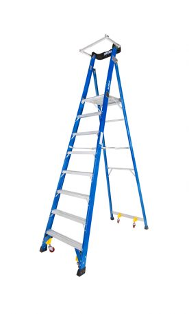 Fiberglass Podium Ladder