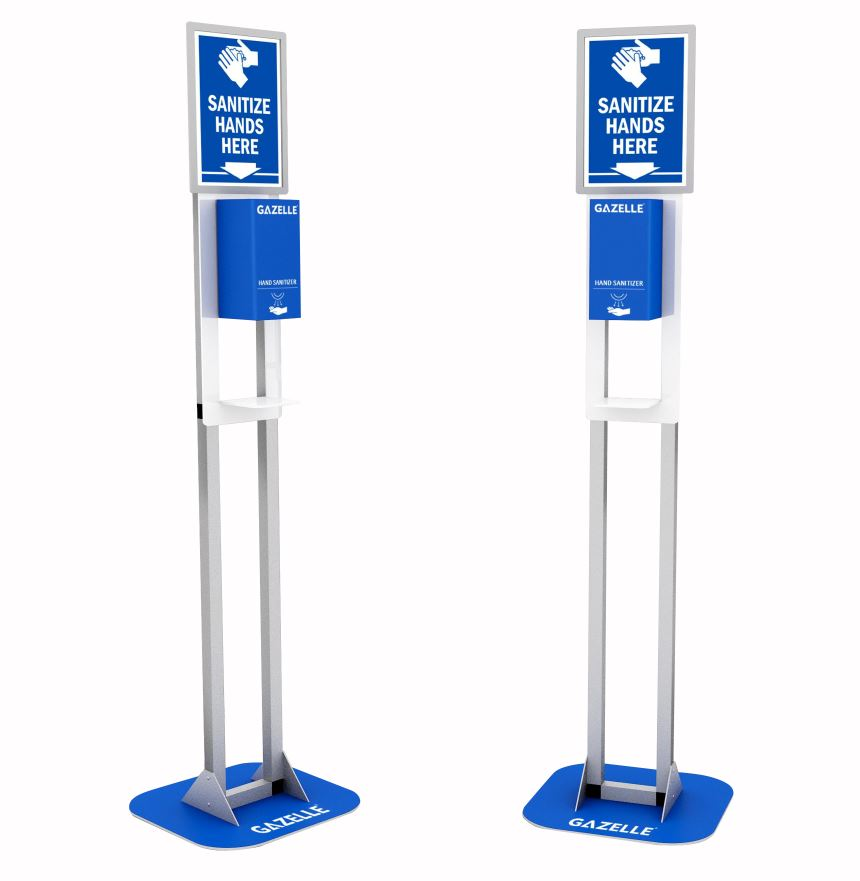 Gazelle_G9606 Floor Stand Contactless Sanitizer Dispenser